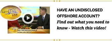 Undisclosed Offshore Account Video